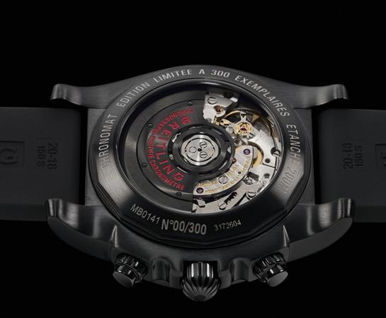 ブライトリング-クロノマット ブラックカーボン JAPAN LIMITED EDITION 41mm M014BJAVPB 画像3