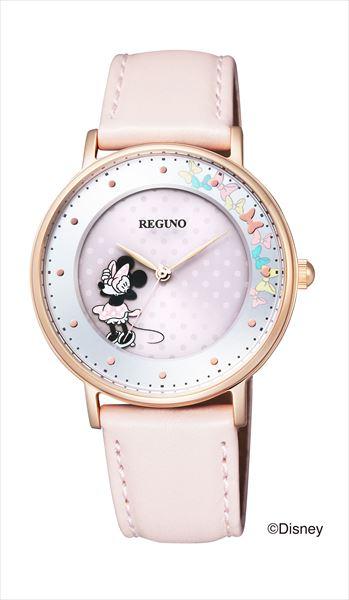 シチズン レグノ ソーラーテック Disney コレクション 「ミニーマウス」限定モデル KP3-163-10