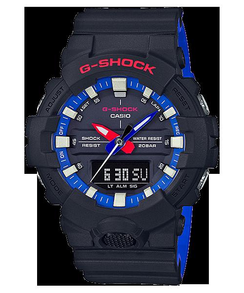 G-SHOCK Layered Black & Tricolor デジアナ GA-800LT-1AJF