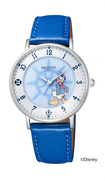 シチズン レグノ ソーラーテック Disney コレクション「ドナルドダック」限定モデル KP3-112-10