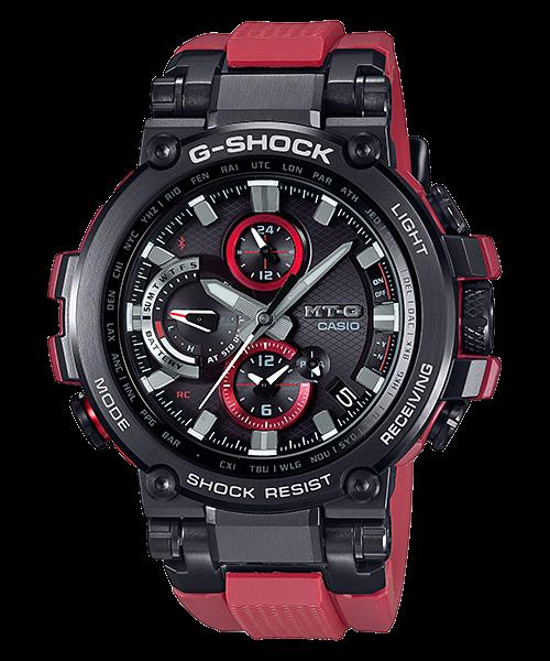 G-SHOCK MT-G トリプルGレジスト スマートフォンリンク タフソーラー電波 マルチバンド6 MTG-B1000B-1A4JF