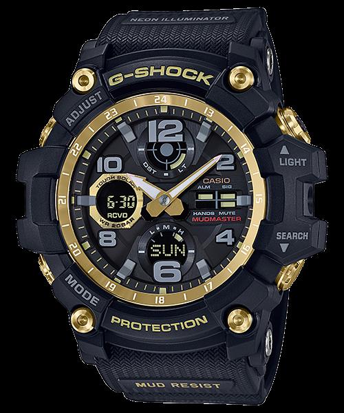 G-SHOCK マッドマスター タフソーラー 電波 マルチバンド6 Black & Gold GWG-100GB-1AJF
