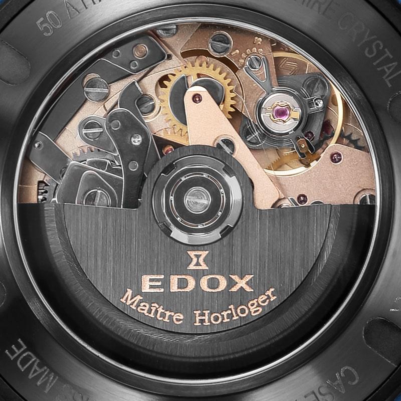 エドックス-クロノオフショア1 カーボン オートマティッククロノグラフ 01125-CLNBUN-NINBU 画像3