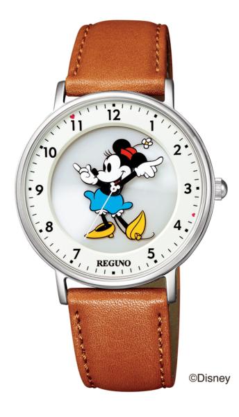 シチズン レグノ ソーラーテック Disneyコレクション「ミニー」モデル KP3-112-12