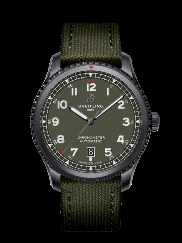 ブライトリング-アビエーター8 オートマチック41 CURTISS WARHAWK M173152A1L1X1-画像1