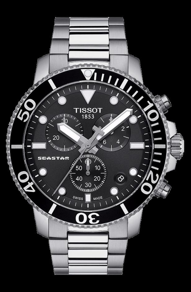 ティソ シースター1000 クオーツクロノグラフ T120.417.11.051.00