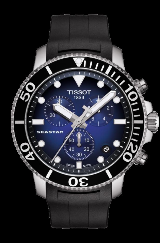 ティソ シースター1000 クオーツクロノグラフ T120.417.17.041.00