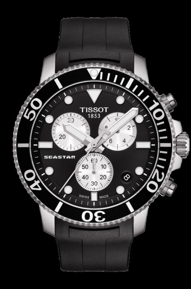 ティソ シースター1000 クオーツクロノグラフ T120.417.17.051.00
