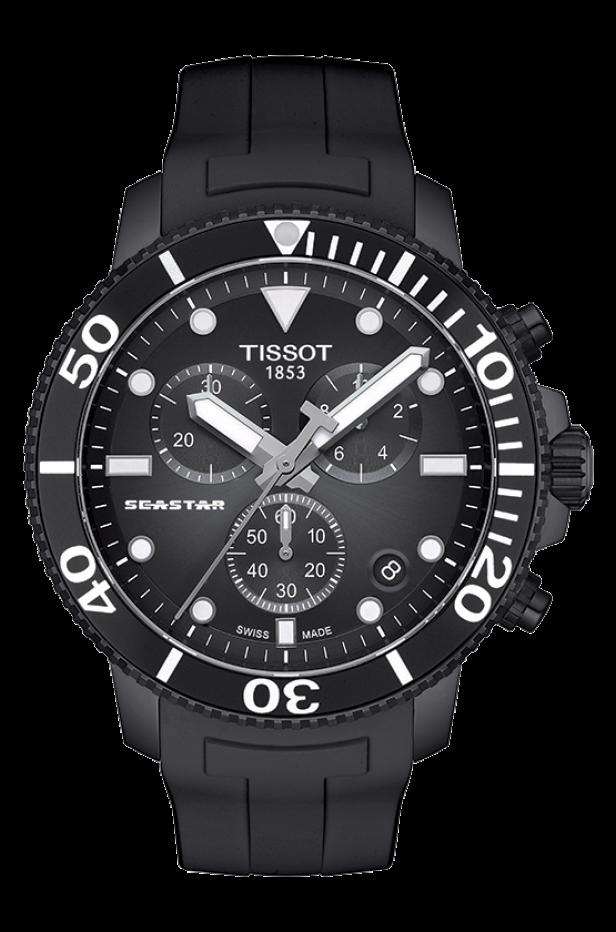 ティソ シースター1000 クオーツクロノグラフ T120.417.37.051.02