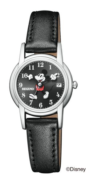 シチズン レグノ ソーラーテック レディス Disneyコレクション「ミッキーマウス」モデル KP7-118-50