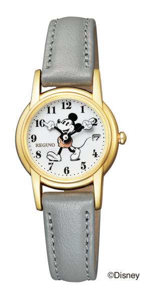 シチズン レグノ ソーラーテック レディス Disneyコレクション「ミッキーマウス」モデル KP7-126-10