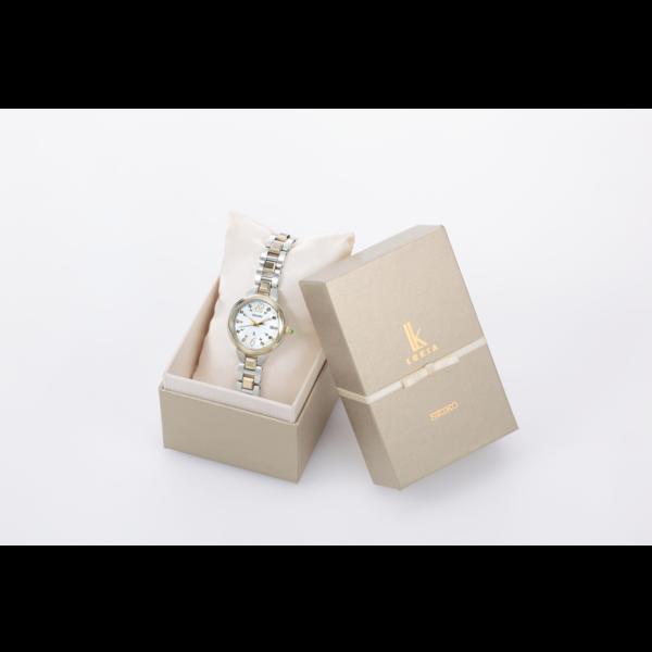 セイコー-ルキア ソーラー電波 Lady Gold 2019年サマー限定モデル SSVW156 画像3
