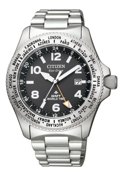 シチズン プロマスター ランド エコ・ドライブ GMT BJ7100-82E