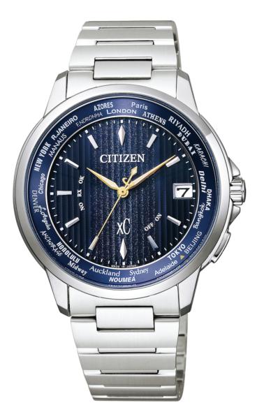 シチズン クロスシー エコ・ドライブ電波時計 ベーシックコレクション ハッピーフライト ペア限定モデル CB1020-54M