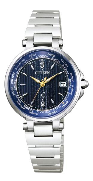 シチズン クロスシー エコ・ドライブ電波時計 ベーシックコレクション ハッピーフライト ペア限定モデル EC1010-57L