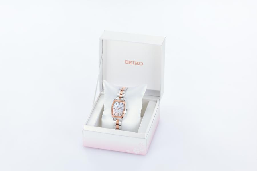 セイコー-ルキア ソーラー電波 Lady Diamond 2020 SAKURA Blooming 数量限定モデル SSQW050 画像3
