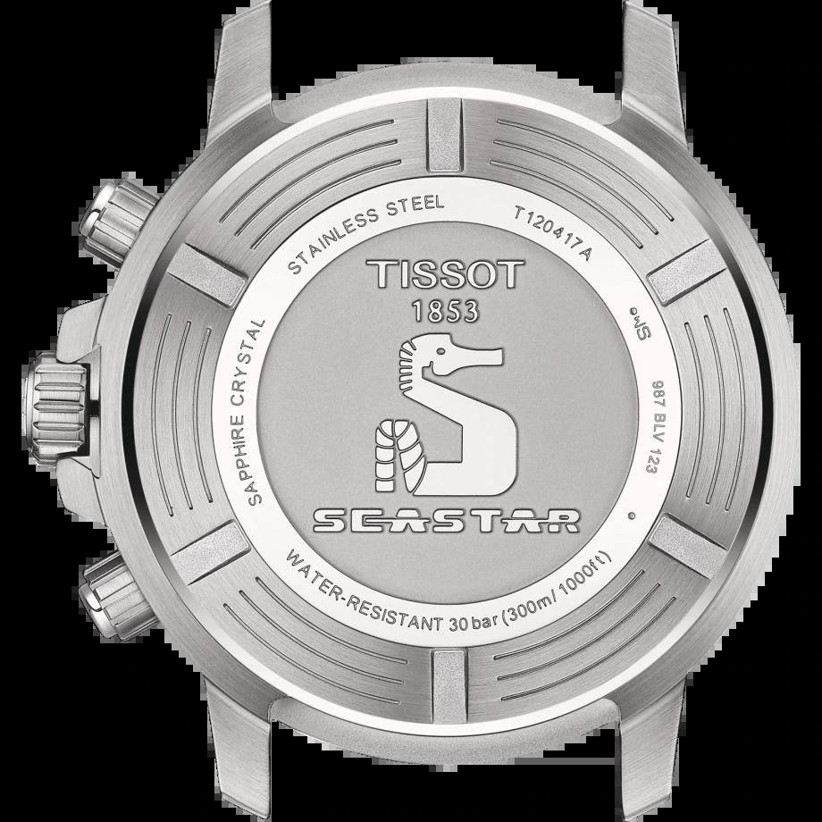 ティソ-ティソ シースター1000 クオーツクロノグラフ T120.417.11.041.002 画像2