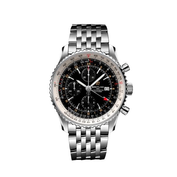 ブライトリング ナビタイマー クロノグラフ GMT 46 A24322121B2A1