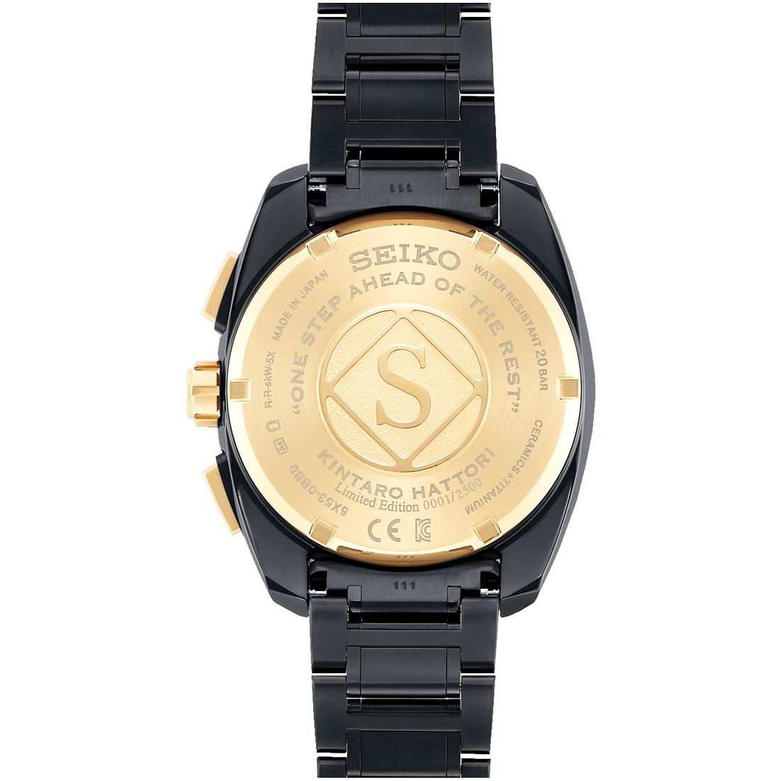 セイコー-アストロン 5Xグローバルライン限定モデル 服部金太郎生誕160周年記念モデル SBXC073 画像2