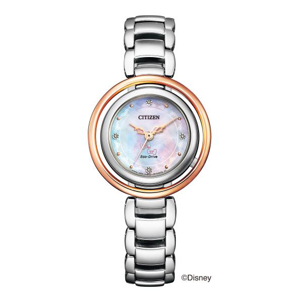 シチズン L エコ・ドライブ ディズニーコレクション 限定モデル「Disney Marie」 EM0665-57W